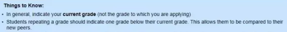 SSAT报名时如何选择年级